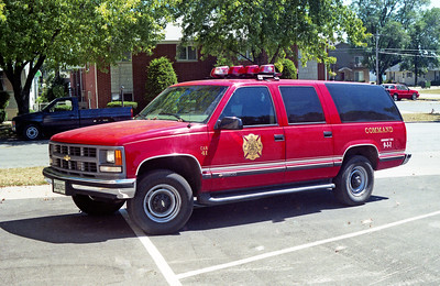BRADLY  CAR 41   1997 CHEVY SUBURBAN
