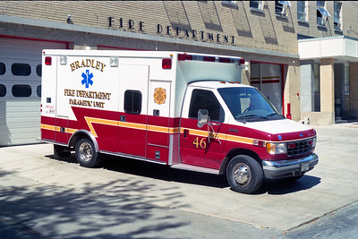 BRADLEY  SQUAD 46  1995 FORD E-350 - ROAD RESCUE  #3069