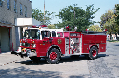 BRADLEY  ENGINE 49  1986 FORD C - E-ONE  1000-500   #5172
