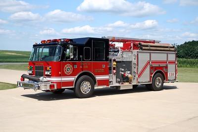 GRANT PARK  ENGINE 110  1996 PIERCE SABER  1250-1000  E-9723  X-BEECHER FD