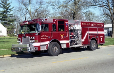 KANKAKEE ENGINE 4  PIERCE ARROW XT