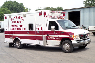 KANKAKEE  SQUAD 2  FORD E450 - ROAD RESCUE