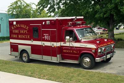 KANKAKEE RESCUE 3  FORD E  RED
