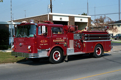 KANKAKEE ENGINE 5  MACK CF