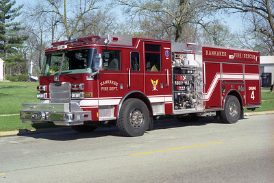 KANKAKEE FD  ENGINE 4 PIERCE ARROW XT