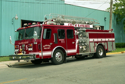 KANKAKEE ENGINE 5  E-ONE TELE BOOM