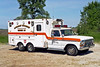 KANKAKEE TOWNSHIP RESCUE 83  1978 FORD F-350 - MARION  #I-7562   X- CLARENDON HILLS FD