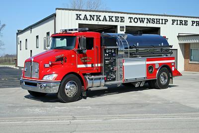 KANKAKEE TOWNSHIP TANKER 85  2009 KENWORTH T-300 - US TANKER  500-2000   #5363