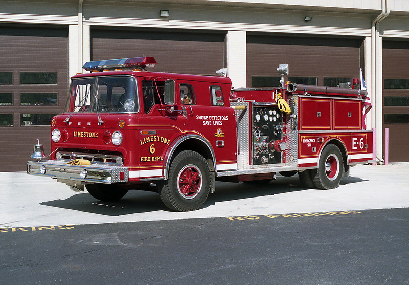 LIMESTONE FPD ENGINE 6  FORD-FMC