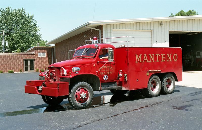 MANTENO  TANKER 76  1954 DODGE - FD BUILT  500-1800