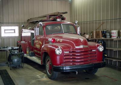 PILOT TOWNHIP  ENGINE 2   1950  CHEVY - ALEXIS   500-300