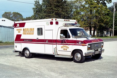 SALINA  RESCUE 165  FORD E -