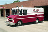 ST ANNE  RESCUE 10   1967 CHEVY STEPVAN 30  REPAINTED
