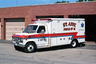 ST ANNE  SQUAD 18  1987 FORD E350 - ROAD RESCUE