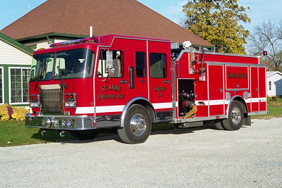 ST ANNE  ENGINE 10  1996 SPARTAN GLADIATOR - ALEXIS  1250-1000  #1600