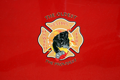OSWEGO STATION 1 DOOR LOGO