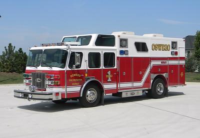 Oswego FPD Squad-1 1992 E-One Cyclone