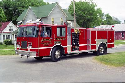ABINGDON FPD ENGINE 1  1993  SPARTAN - ALEXIS   1000-1000