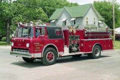 ABINGDON FPD  ENGINE 3  1975  FORD C - 1977  ALEXIS   750-750