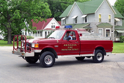 ABINGDON FPD BRUSH 8  1989  FORD F - ALEXIS   300-300