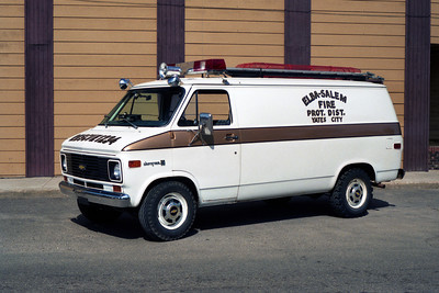 RESCUE  CHEVY VAN