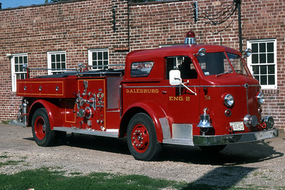 GALESBURG ENGINE 2  1953 ALFCO  700  750-0  RON HEAL PHOTO