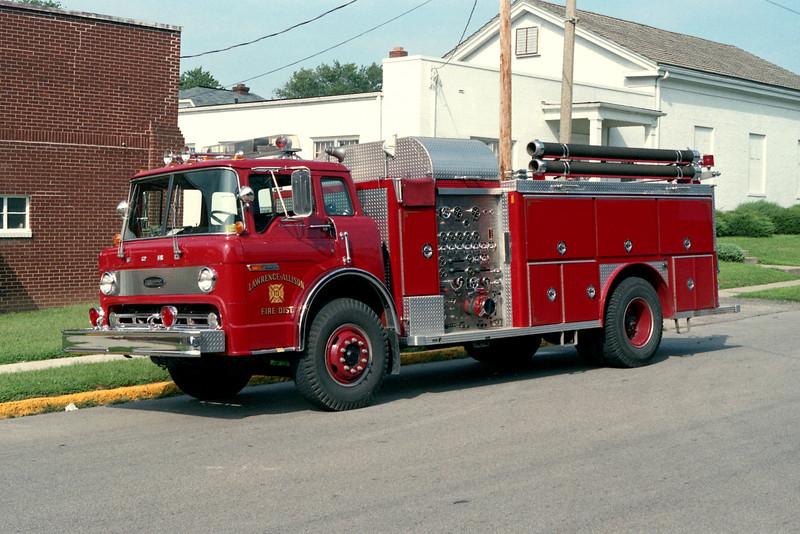 LAWRENCE - ALLISON FPD  ENGINE 10  FORD C