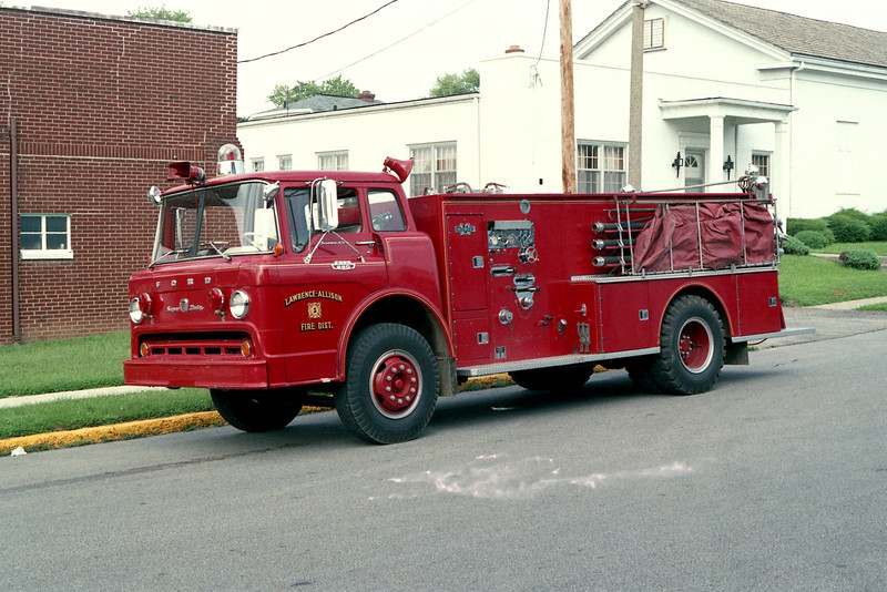 LAWRENCE - ALLISON FPD  TANKER 5