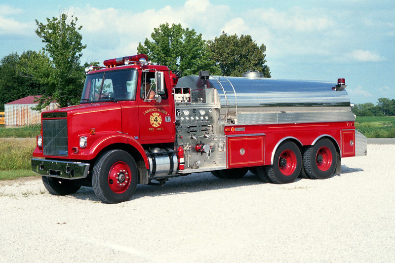 LAWRENCE - ALLISON FPD  TANKER 4