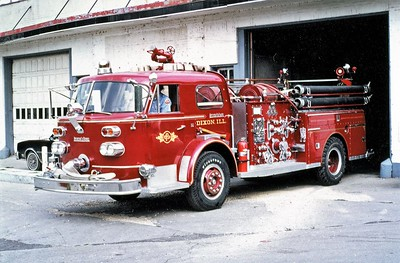 DIXON   ENGINE 1  1961 ALFCO 900  1000-500  #7-1-8366