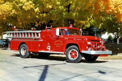 FRANKLIN GROVE ENGINE 813   1960 FORD F - HOWE   500-800