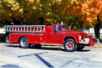 FRANKLIN GROVE ENGINE 814   1968 FORD F - HOWE  500-800