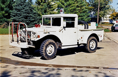 PAW PAW BRUSH TRUCK  JEEP