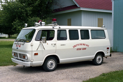 RESCUE 6  CHEVY VAN