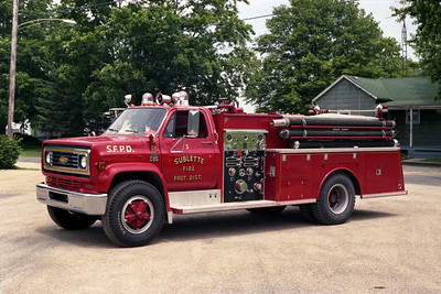 ENGINE 5  CHEVY - DARLEY
