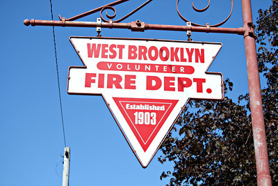 WEST BROOKLYN STATION SIGN