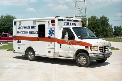 CHATSWORTH  RESCUE 1516  1995 FORD E-350 - WHEELED COACH