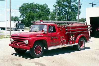 CHATSWORTH  TANKER 4  1961 FORD F-600 - ALEXIS  500-1000