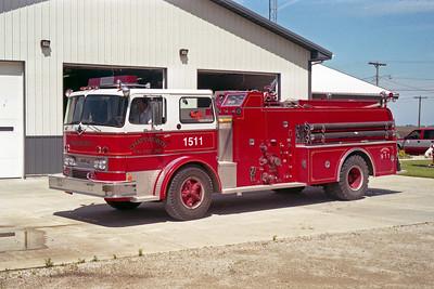 CHATSWORTH  ENGINE 1511   1971  IHC CO8190 - HOWE  750-1000   X- MANTENO FPD  #13225