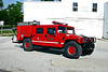 CULLOM BRUSH 1718  1993 AMC HUMMER - FIRST ATTACK  250-300   OFFICERS SIDE