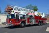 DWIGHT FD  TRUCK 1819  1988 DUPLEX - GRUMMAN  1500-200-95'  X-PAXTON FPD,IL - X-NICEVILLE FD,FL  #18041