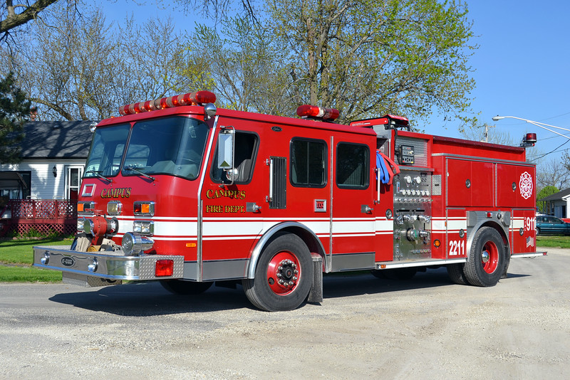 CAMPUS FPD  ENGINE 2211  1996 E-ONE CYCLONE  1250-750  X-ADDISON FPD  # 15766