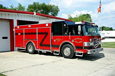 FAIRBURY SQUAD 243 OFFICERS SIDE