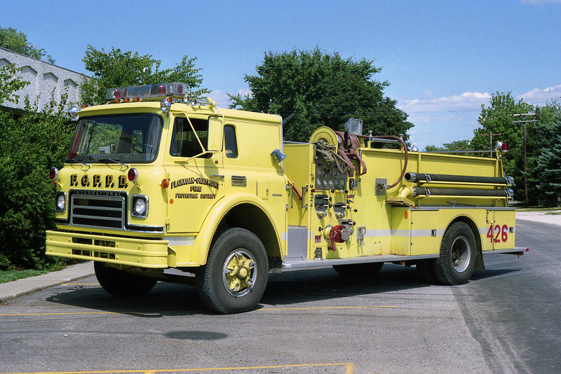 FLANNAGAN - GRAYMONT FPD  ENGINE 426   1979 IHC-BOYER  750-750