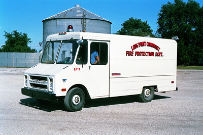 LONG POINT RESCUE 3  1973  CHEVY 20 STEPVAN