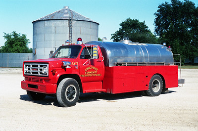 LONG POINT TANKER 2   1980 GMC - 1957 WALKER TANK  0-1750