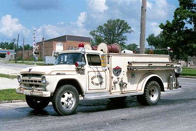 ODELL TANKER 1  1957 FORD F - CENTRAL ST LOUIS  500-600