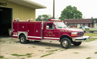 ODELL  SQUAD 1316  1996 FORD F-450 - 1990 MARION - RPI