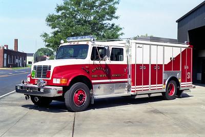 PONTIAC  SQUAD 1   1992 IHC 4900 - ALEXIS  #S-526