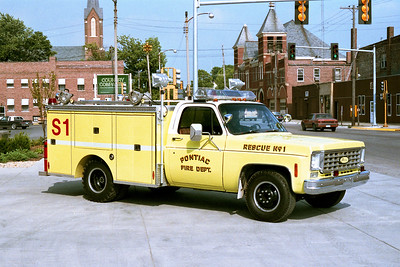 PONTIAC  SQUAD 1   1975 CHEVY - PIERCE